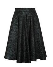 Brocade circle skirt