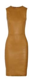 Dastuls stretch-leather dress