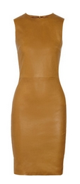 Dastuls stretch-leather dress