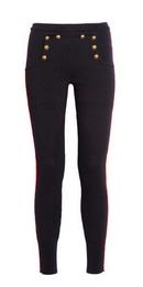 Serra stretch wool-blend leggings