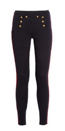 Serra stretch wool-blend leggings