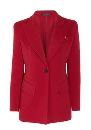 Wool-blend riding jacket