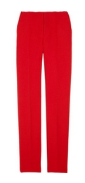 Wool-crepe pants
